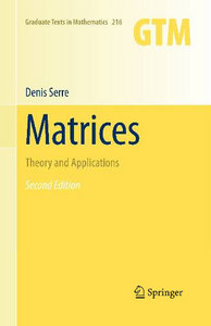 Matrices: Theory and Applications (Graduate Texts in Mathematics) free download