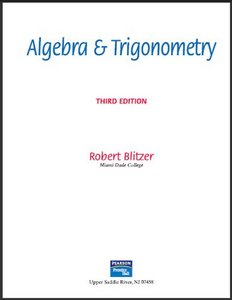 Algebra and Trigonometry (3rd Edition) free download