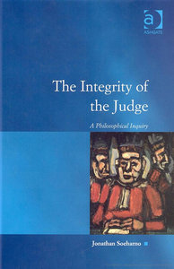 Jonathan Soeharno - The Integrity of the Judge : A Philosophical Inquiry free download