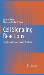 Cell Signaling Reactions: Single-Molecular Kinetic Analysis free download