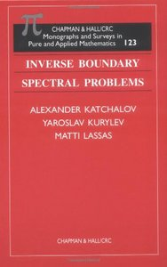 Inverse Boundary Spectral Problems free download