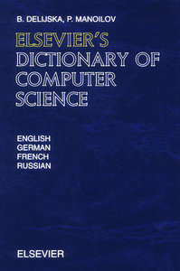 Elsevier's Dictionary of Computer Science free download