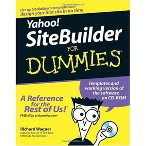 Yahoo sitebuilder for dummies for dummies computer tech for Yahoo sitebuilder templates