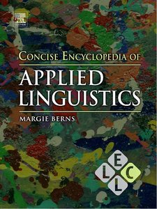 Concise Encyclopedia of Applied Linguistics free download