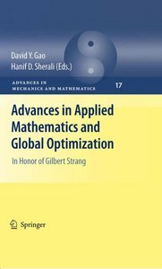Advances in Applied Mathematics and Global Optimization: In Honor of Gilbert Strang free download
