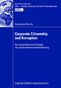 Stephanie Muche - Corporate Citizenship und Korruption free download
