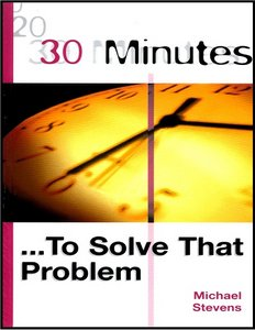 30 Minutes to Solve a Problem free download