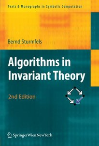 Algorithms in Invariant Theory, 2 Edition free download