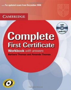 Complete First Certificate Workbook with Answers and Audio CD free download