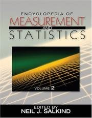 Encyclopedia of Measurement and Statistics 3-Volume Set free download