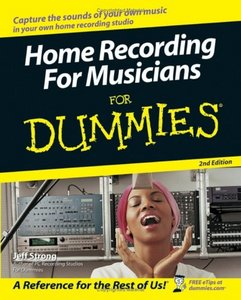 Home Recording For Musicians For Dummies free download