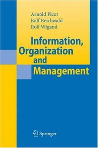 Information, Organization and Management free download