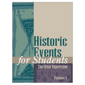 Historic Events for Students: The Great Depression free download