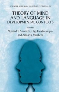 Theory of Mind and Language in Developmental Contexts free download