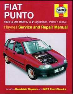 fiat punto 1994 1999 service and repair manual haynes. Black Bedroom Furniture Sets. Home Design Ideas