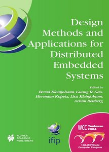 Design Methods and Applications for Distributed Embedded Systems free download
