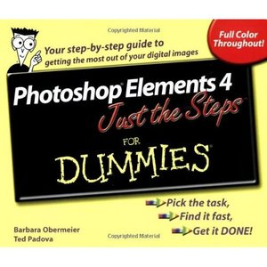 Photoshop Elements 4 Just the Steps For Dummies free download