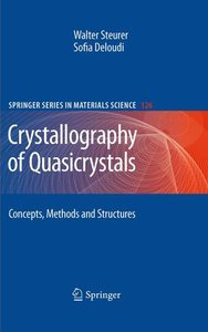 Crystallography of Quasicrystals: Concepts, Methods and Structures free download