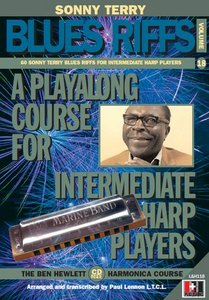 Ben Hewlett Harmonica Course Vol. 18 - 60 Sonny Terry Blues Riffs free download
