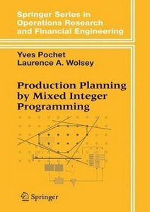 Production Planning by Mixed Integer Programming free download