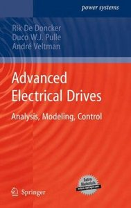 Advanced Electrical Drives: Analysis, Modeling, Control free download