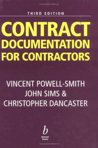 Contract Documentation for Contractors, 3 Edition free download