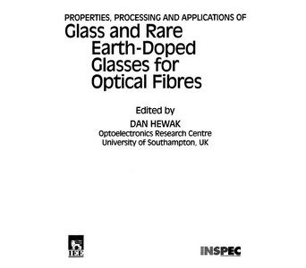 Glass and Rare-Earth Doped Glasses for Optical Fibres free download