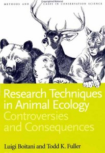 Research Techniques in Animal Ecology free download