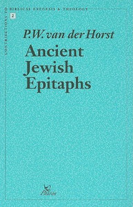 P.W. van der Horst - Ancient Jewish Epitaphs free download