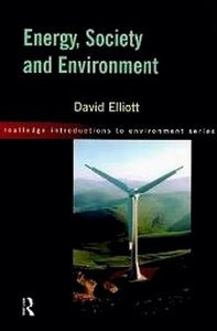 Energy, Society and Environment free download