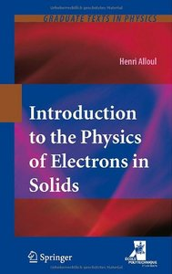 Introduction to the Physics of Electrons in Solids free download