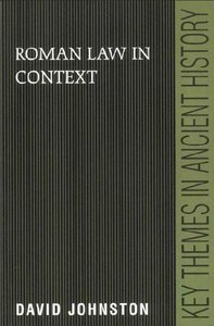 Roman Law in Context free download