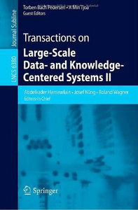 Transactions on Large-Scale Data- and Knowledge-Centered Systems II free download