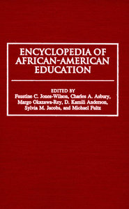Encyclopedia of African-American Education free download