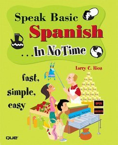 Speak Basic Spanish In No Time ( BOOK Audio CD ) free download