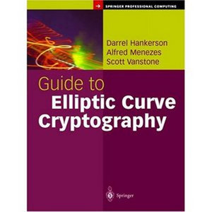 Guide to Elliptic Curve Cryptography (Springer Professional Computing) free download