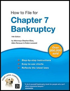 How to File for Chapter 7 Bankruptcy By Stephen Elias Attorney, Albin Renauer J.D., Robin Leonard J.D. free download