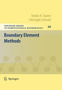 Stefan A. Sauter, Christoph Schwab, Boundary Element Methods free download