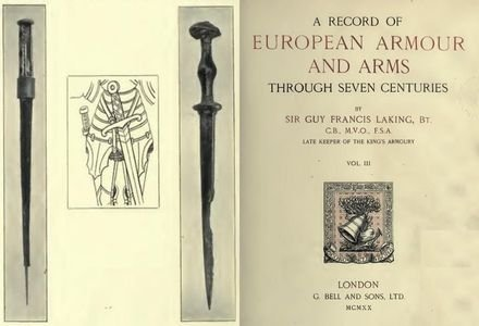 A Record of European Armour and Arms Through Seven Centuries Vol. III free download