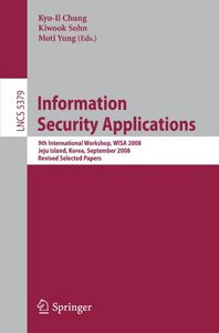 Information Security Applications free download