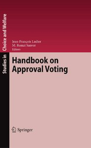 Handbook on Approval Voting free download