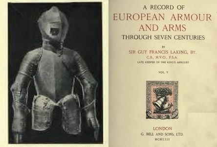 A Record of European Armour and Arms Through Seven Centuries Vol. V free download