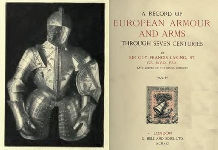A Record of European Armour and Arms Through Seven Centuries Vol. IV free download