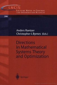 Directions in Mathematical Systems Theory and Optimization free download