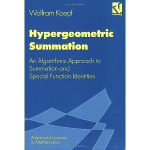 Hypergeometric Summation (Viewed Advanced Lectures in Mathematics Series) free download