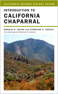 Introduction to California Chaparral (California Natural History Guides) free download