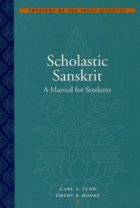 Scholastic Sanskrit: A Manual for Students free download