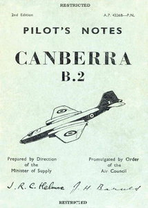 Pilots Notes Canberra B2 free download