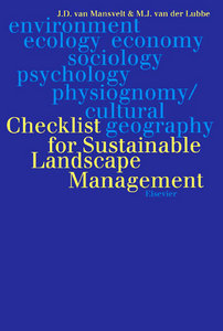 Checklist for Sustainable Landscape Management free download