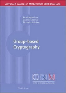 Group-based Cryptography free download